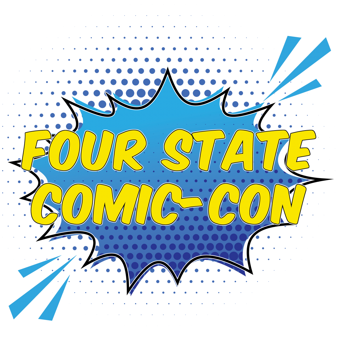 Four State Comic Con logo
