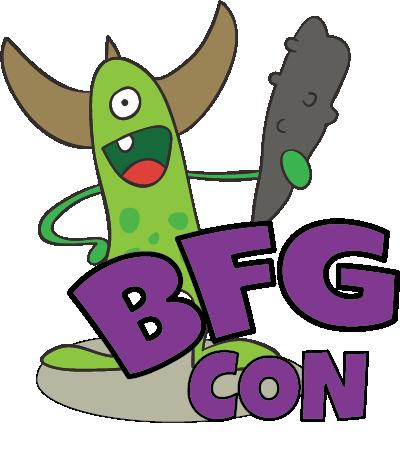 The BFG Con Logo