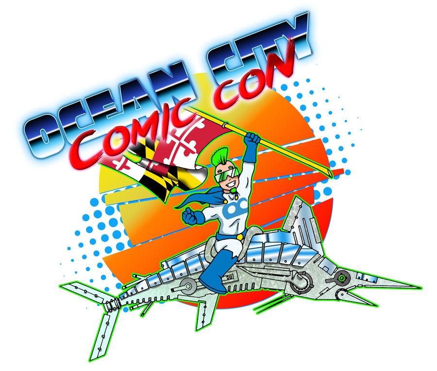 Ocean City Comic Con Logo